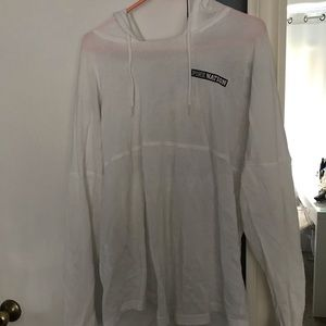 VS PINK thin hooded sweater gently used